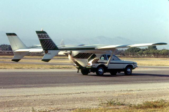 AVE Mizar konsep mobil terbang yang lebih canggih
