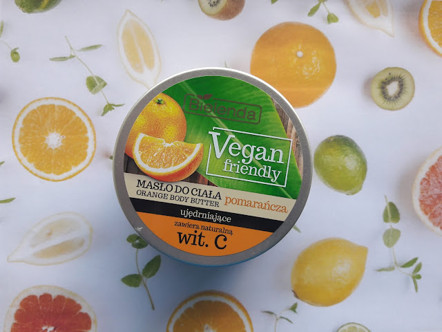 Bielenda vegan friendly masło do ciała pomarańcza