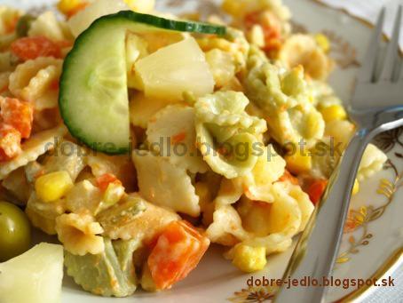 Ananásový  šalát - recepty