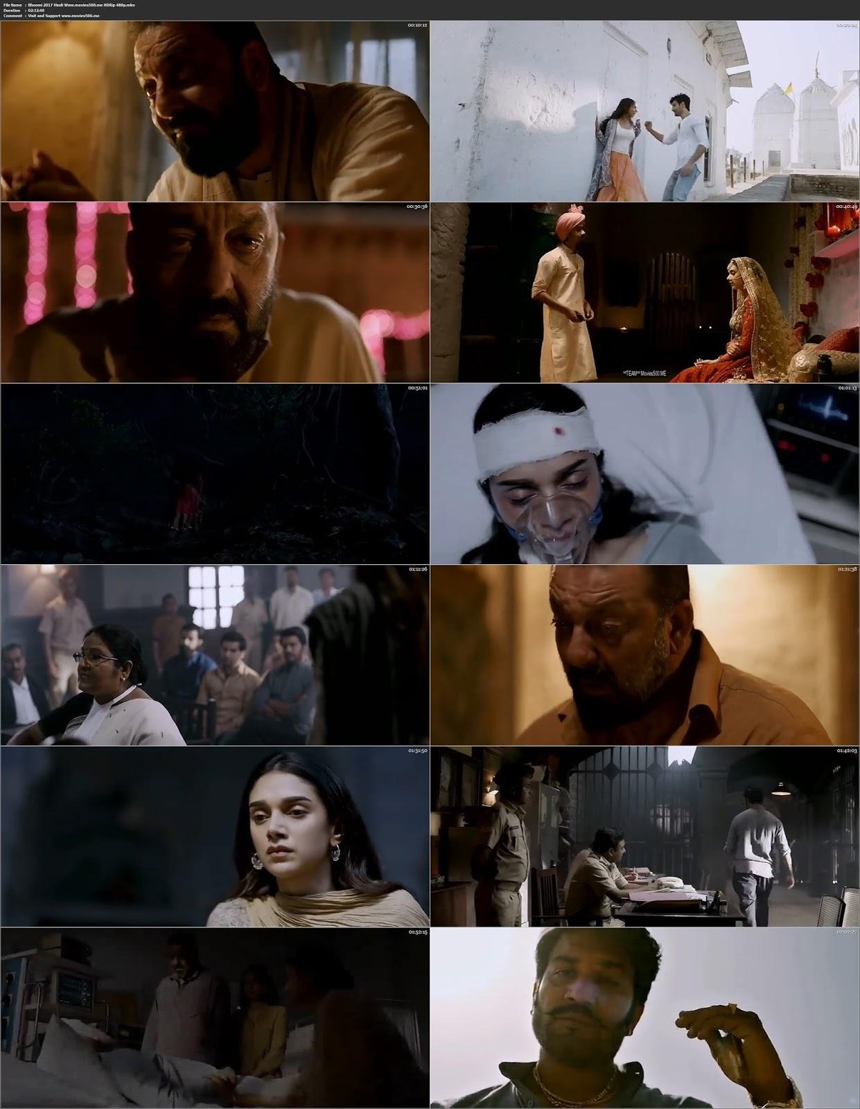Bhoomi 2017 Bollywood 300MB HDRip 480p at movies500.site