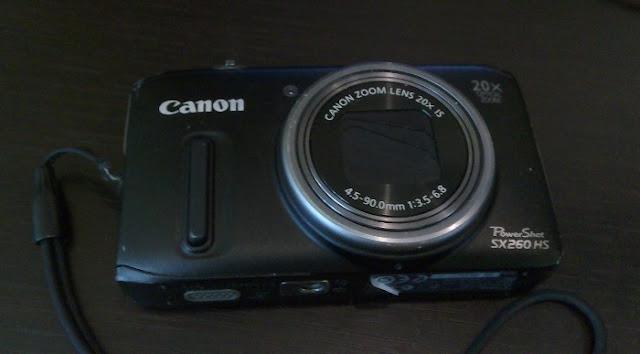 Фотоаппарат Canon sx 260