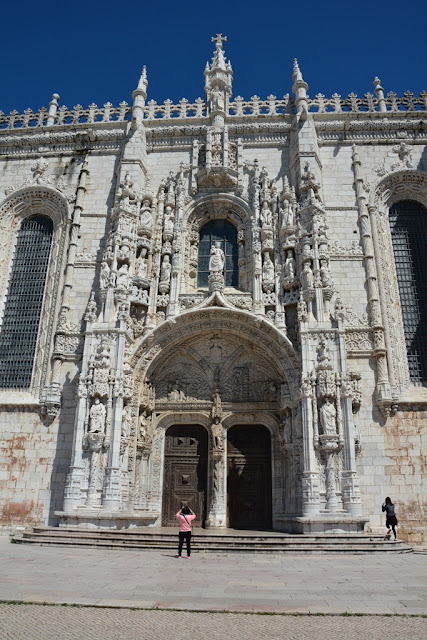 Jeronimos Monastery Lisbon entrance gate