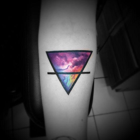 16 Meaningful Triangle Tattoo Ideas