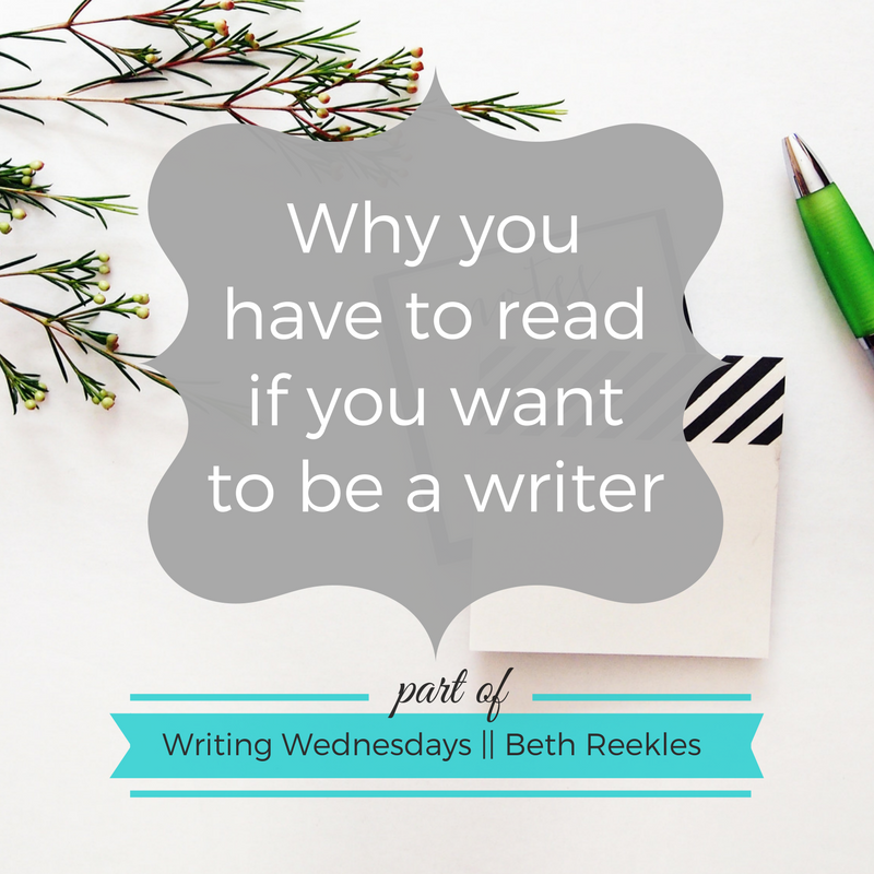 Reading is so important if you want to be a writer. Find out why in this post.