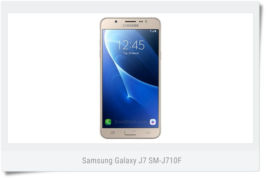 Nougat firmware for Galaxy J7 (2016) SM-J710FN (INS) India