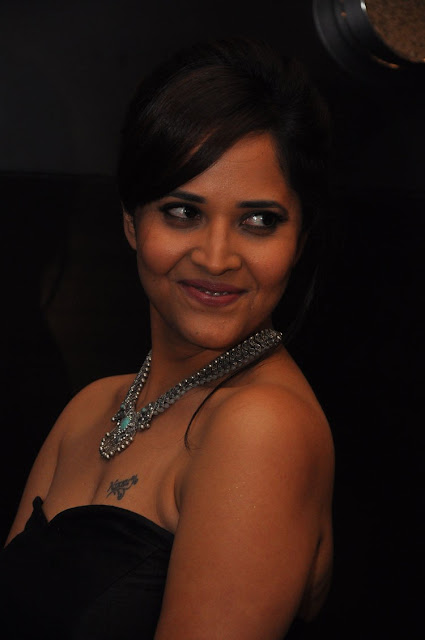Actress Anasuya Hot Stills At Winner Pre Release Event