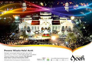 Mari Kita Vote Aceh sebagai Tujuan Wisata Halal Terbaik