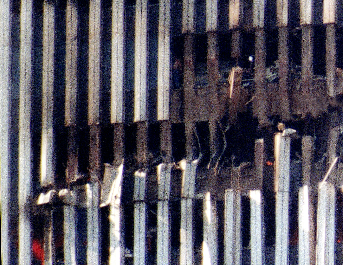 9/11 North Tower Wing Impact