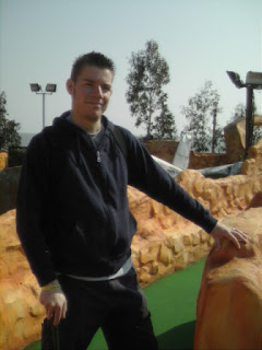 Mini Golf course at Adventure Island in Southend-on-Sea, Essex
