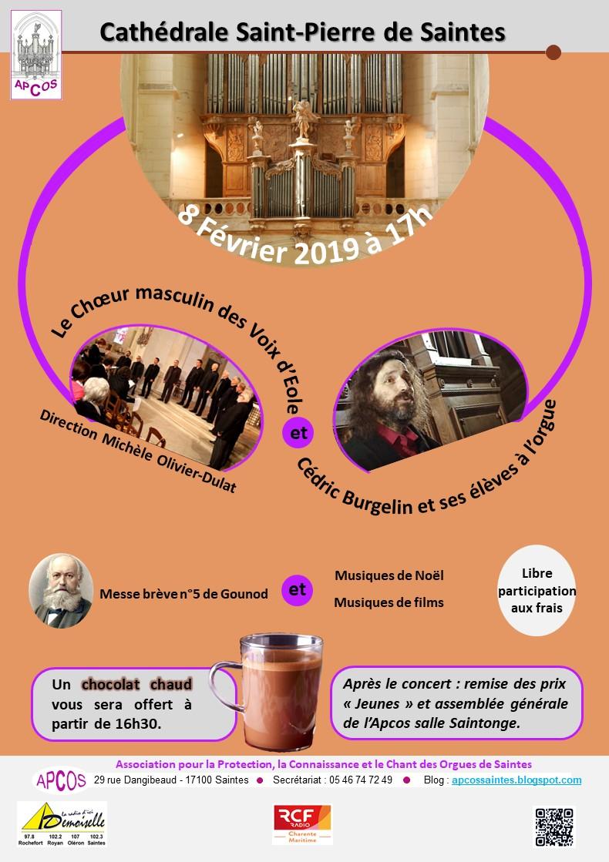 Concert 08 02 2019 - apcossaintes