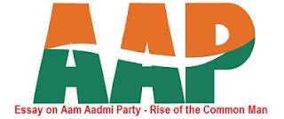 Essay on Aam Aadmi Party - Rise of the Common Man