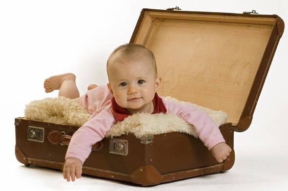 O que não pode faltar na mala do bebê