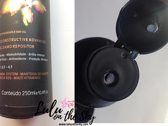 Dellara Alma Lavada: shampoo, máscara, condicionador e spray de silicone.