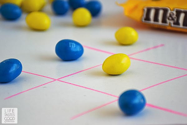 Valentine's Day Tic Tac Toe | by Life Tastes Good
