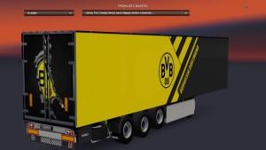 BVB 09 Borrusia Dortmund Kogel Trailer