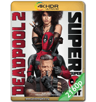 DEADPOOL 2 (2018) UNRATED 4K 2160P HDR MKV ESPAÑOL LATINO