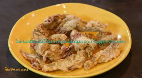 Carciofi fritti ricetta Anna Moroni da Ricette all'Italiana
