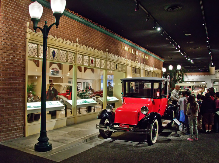 Venue For The Car Enthusiasts Petersen Automotive Museum