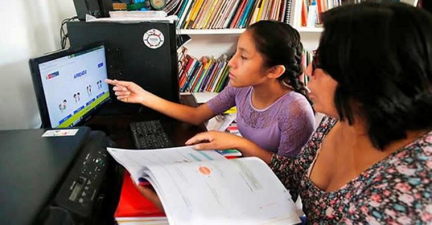 MINEDU: Aprendo en casa ha llegado para quedarse y será un complemento a la educación presencial, sostuvo el Ministro de Educación, Martín Benavides