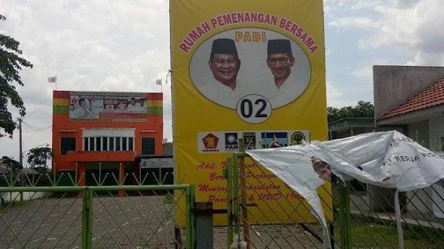 BPN Prabowo Lirik Rumah Tetangga Jokowi Jadi Posko Pemenangan