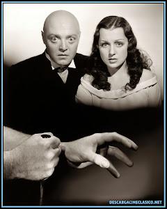 Fotografía de Peter Lorre y Frances Drake utilizada para el montaje del cartel de la película.