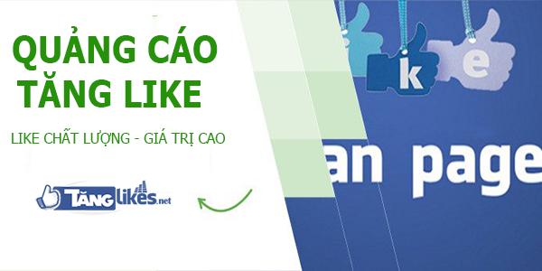 quang cao tang like tren facebook