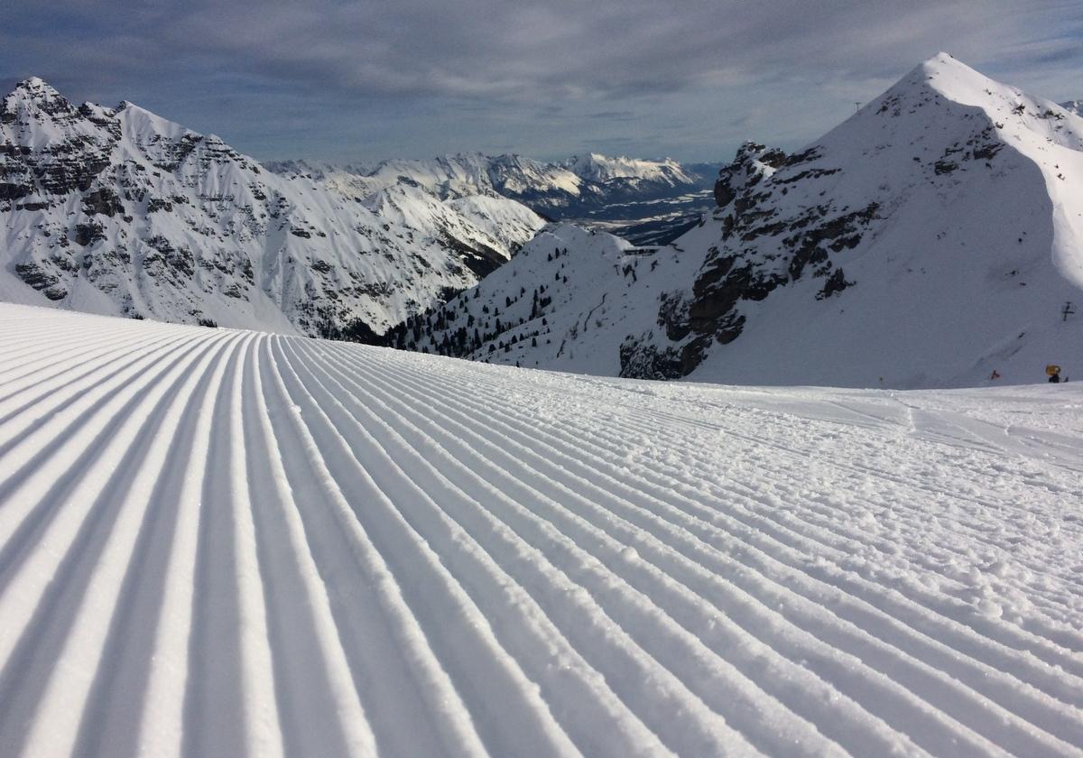 Austria, Tyrol: narty z dziećmi