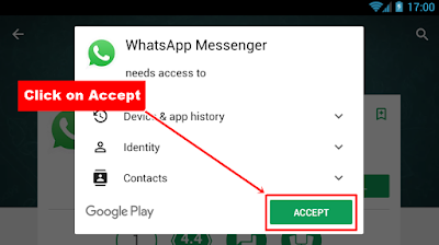 WhatsApp installation