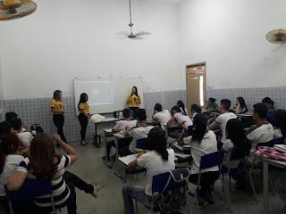 Coordenação de Saúde Mental de Cajazeiras realiza palestras nas escolas sobre suicídio
