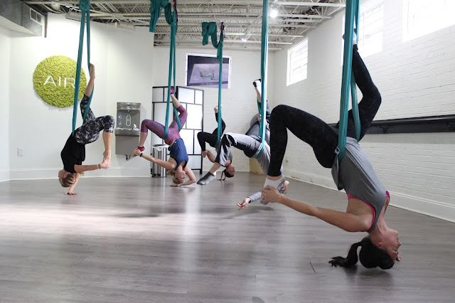 AIR Charlotte, aerial fitness review,
