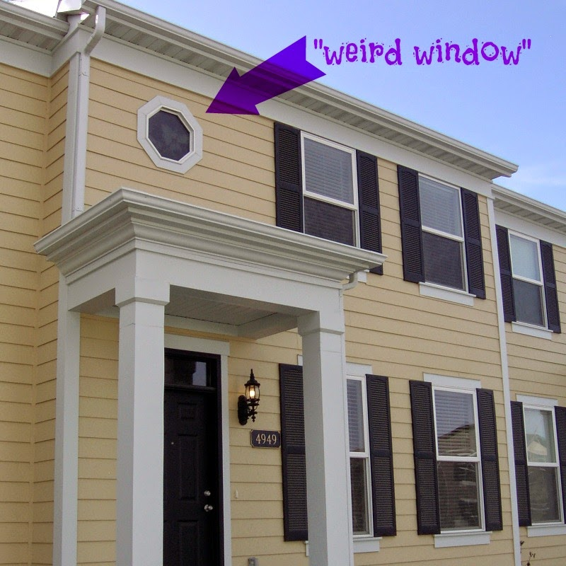 If You Have The Misfortune Of Also Having An Octagonal Window In Your House Know How Difficult It Can Be To Find A Covering For