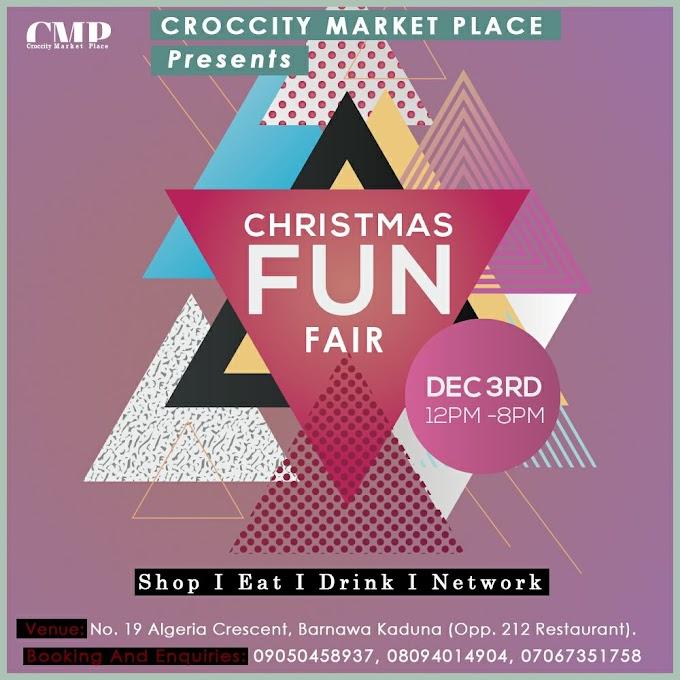 CrocCity Market Place Presents (CHRISTMAS FUN FAIR)