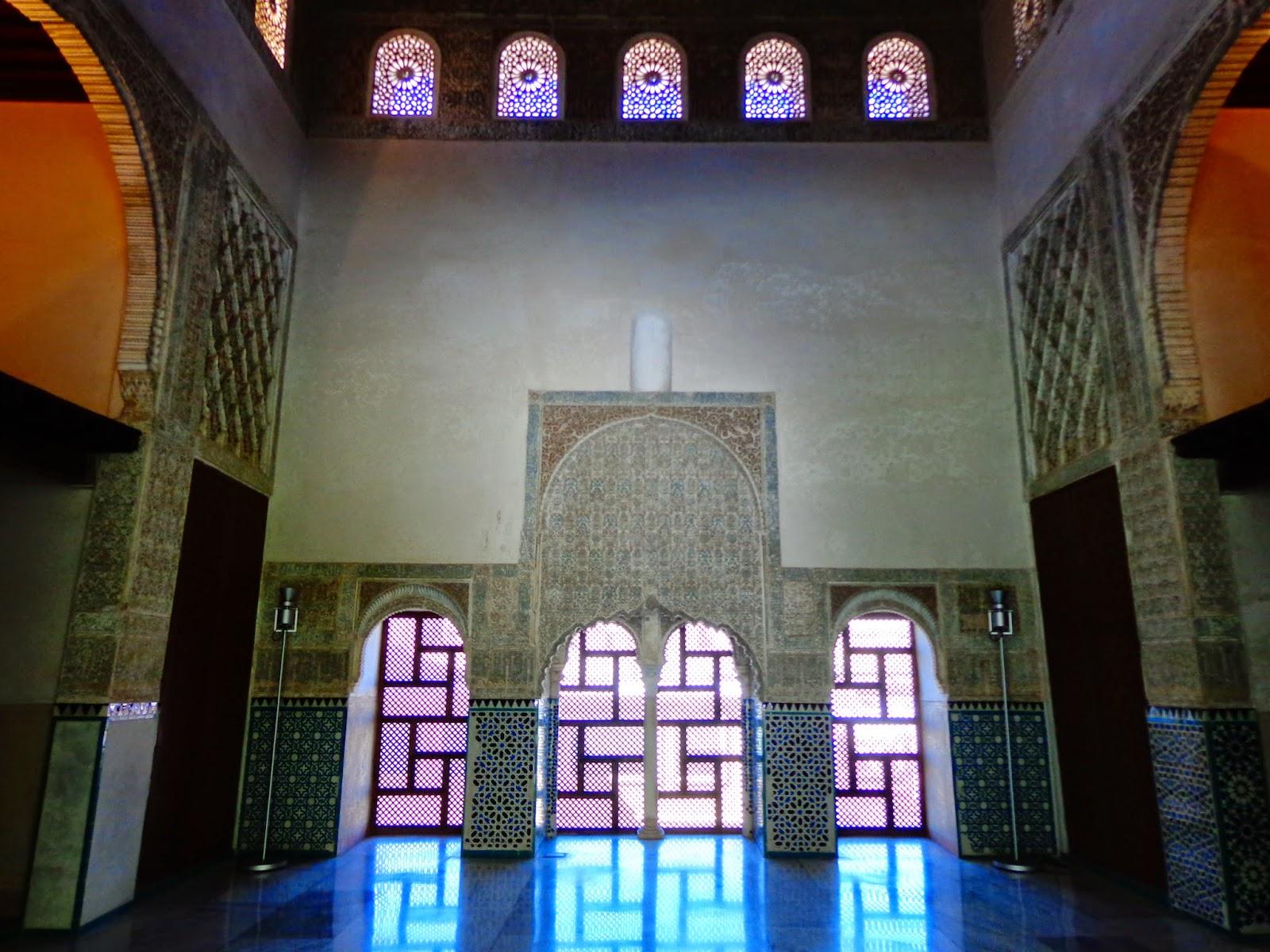 Legado nazari cuarto real de santo domingo yannat al for Cuarto real de santo domingo