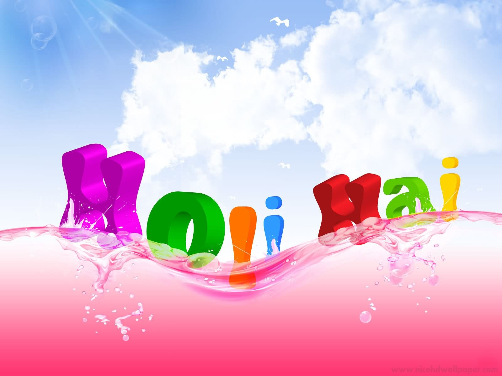 {3D*} Happy Holi 2019 HD Wallpapers, Greeting, Images For Kids