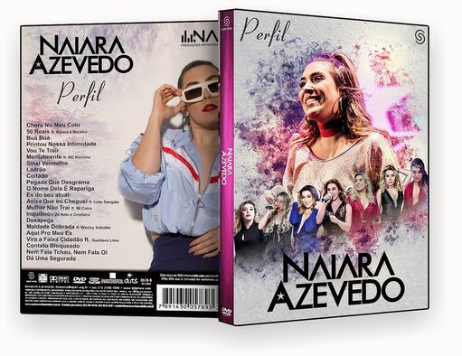CAPA DVD – NAIARA AZEVEDO DVD PERFIL DVD-R