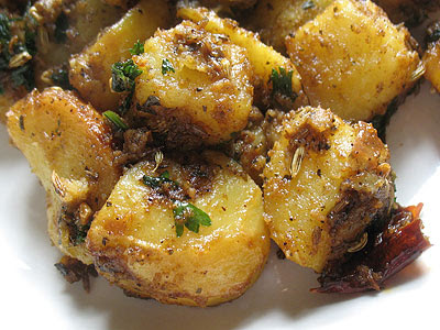 Tamarind Potatoes with Spices (Imli Aloo)