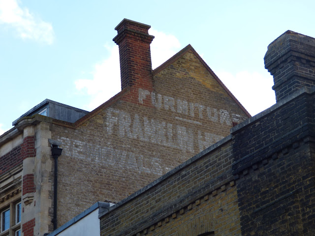 Ghostsign on Rochester High Street, Kent