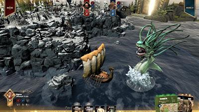 Blood Rage Digital Edition Game Screenshot 6