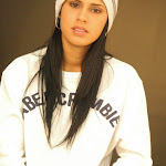 Andrea Rincon, Selena Spice Galeria 19: Buso Blanco y Jean Negro, Estilo Rapero Foto 41