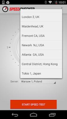 تطبيق Internet Speed Test كامل للأندرويد