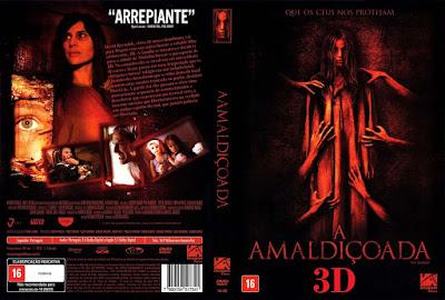Filme A Amaldiçoada 3D DVD Capa