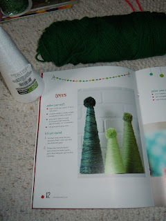 Yarn Whimsies Christmas Tree Yarn Cone