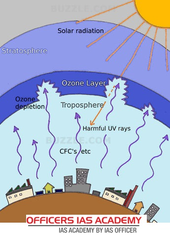 effect of stratospheric ozone depletion on aquatic Depleted ozone has consequences on humans, animals and plants this typically results from higher uv levels reaching us on earth it has effect on humans, plants, marine life and environment.