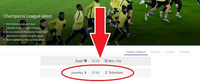 cách xem Champions League trực tiếp như thế nào