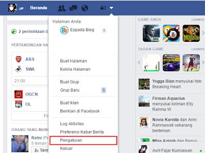 Cara Mengganti ID atau Nama pengguna Profil Facebook 15