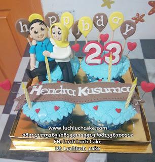 Cupcake Anniversary dan Ulang Tahun
