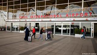 ايقاف جميع الرحلات الجوية في جميع مطارات كردستان اعتبارا من اليوم الجمعه