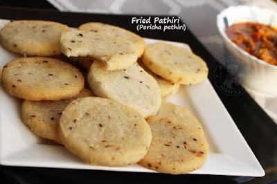malabar recipes fried pathiri yenna pathiri neyy pathiri poricha pathiri malabar vibhavangal