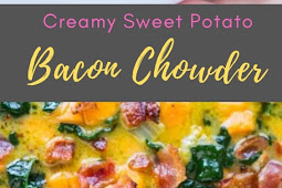 Creamy Sweet Potato Bacon Chowder
