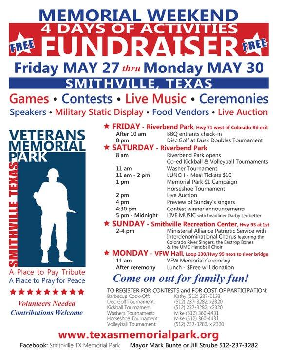 Veterans Memorial Park Fundraiser 2012